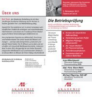 Ingo Mikolajewski - AH Akademie für Fortbildung Heidelberg GmbH