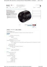 Technische Daten DSC-QX100 - blende7