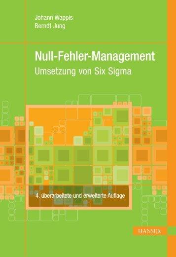 Null-Fehler-Management - Buch.de