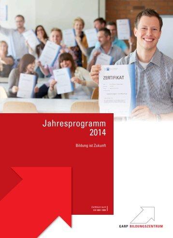 Jahresprogramm 2014 - IHK Region Stuttgart