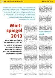Miet- spiegel - Berliner Mieterverein e.V.