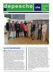 depesche 03/2013 (PDF) - VHS in NRW