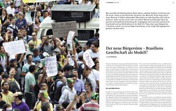 Der neue Bürgersinn – Brasiliens Gesellschaft als Modell? - Bauwelt