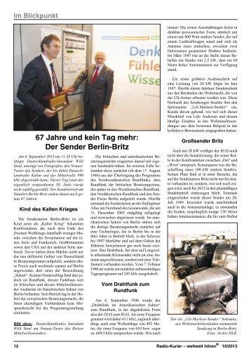 2013 - Heft 10 - 1. Oktober - der ADDX