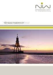 Tätigkeitsbericht 2012 erschienen - NIW