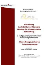 Teilnahmeantrag (pdf, 292KB) - architekturwettbewerb