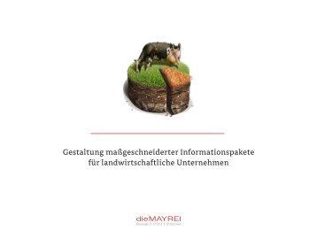Gestaltung maßgeschneiderter Informationspakete für ...