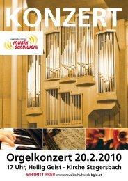 17 Uhr, Heilig Geist - Kirche Stegersbach