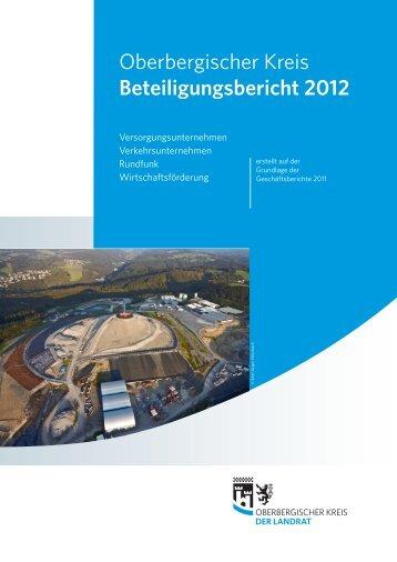 20_B-121210-3-beteiligungsbericht.indd - Oberbergischer Kreis