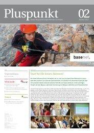 Pluspunkt 02/2013 pdf, 2.4 mb - Base-Net Informatik AG