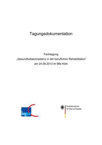 tagungsdokumentation iqpr - Verschwiegenheitserklrung Muster