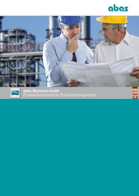 abas Business Suite Produktkomponente Projektmanagement