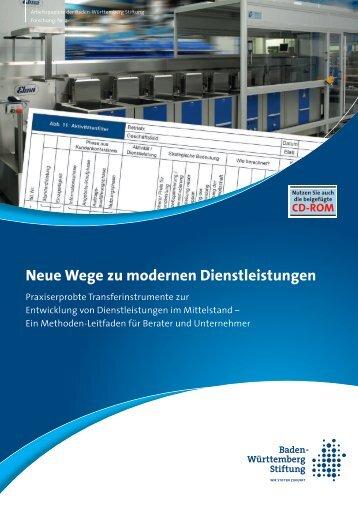 Neue Wege zu modernen Dienstleistungen - Baden-Württemberg ...
