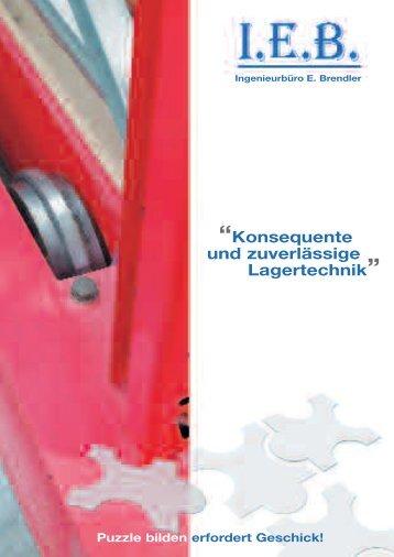 Unternehmensflyer - Ingenieurbüro E. Brendler
