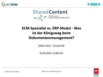 Grundlagen ECM / DMS - ECM Navigator