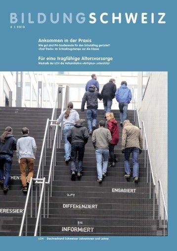 Ausgabe 5 | 2013 (PDF 6.5 MB) - LCH