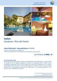 Italien Gardasee / Riva del Garda
