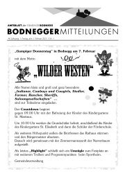 """""""Gumpiger Donnerstag"""" in Bodnegg am 7. Februar mit dem Motto ..."""
