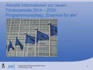 Präsentation von Doris Klingenhagen (AEJ)