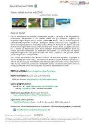 Skript – Infos zu Kodu & Hilfestellung bei der Programmierung ... - JFF