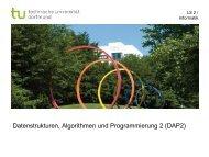 Teile & Herrsche - TU Dortmund, Informatik 2