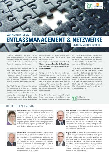 ENTLASSMANAGEMENT & NETZWERKE