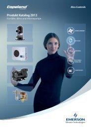 Emerson Produkt Katalog 2013 - Emerson Climate Technologies