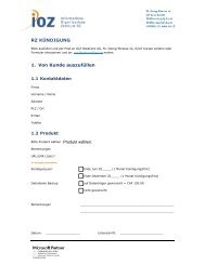 RZ-Kuendigung-Formular - IOZ AG