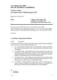 Bildungsverordnung 07.03.2013 - Coiffure SUISSE