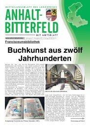 Ausgabe 9 vom 3. Mai 2013 - Landkreis Anhalt-Bitterfeld