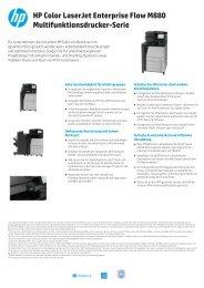 HP Color LaserJet Enterprise Flow M880 ... - ARP