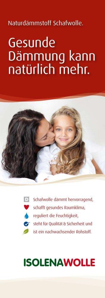 Schafwolle - natürlich Isoliert - Franz Ulmann & Partner GmbH