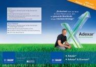 Adexar® Adexar® & Diamant® - BASF Pflanzenschutz Deutschland
