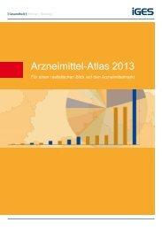 Arzneimittel-Atlas 2013 - Für einen realistischen Blick auf den ... - VfA