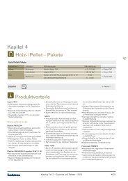 Kapitel 4 Holz-/Pellet - Pakete Produktvorteile - Buderus
