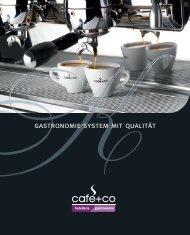 Laden Sie hier den aktuellen Gastro Katalog herunter. - café+co ...
