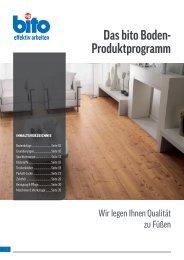 Das bito Boden- Produktprogramm - Bito AG