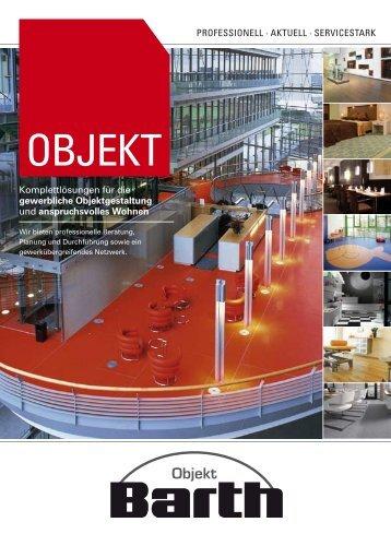 Prospekt herunterladen - BARTH GmbH