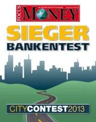 FOCUS-MONEY - Sonderausgabe 2013 - Sparkasse Kleve