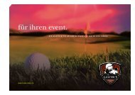 Unsere Event-Dokumentation mit weiteren Infos und ... - The Golfer's
