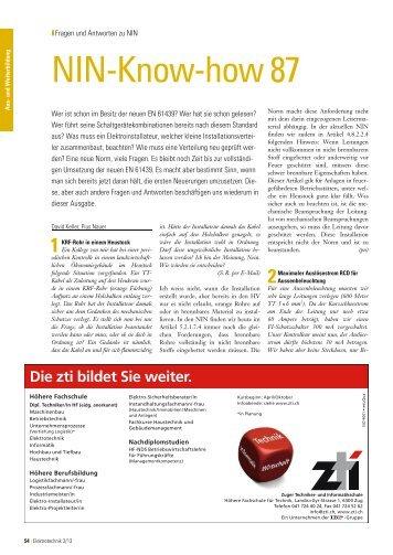 Folge 87 (März 2013) als PDF - ET Elektrotechnik