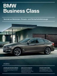 BMW Business Class Magazin 1-2013 - BMW Deutschland