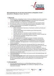 """Nutzungsbedingungen für den UnternehmensCheck """"Erfolgsfaktor ..."""