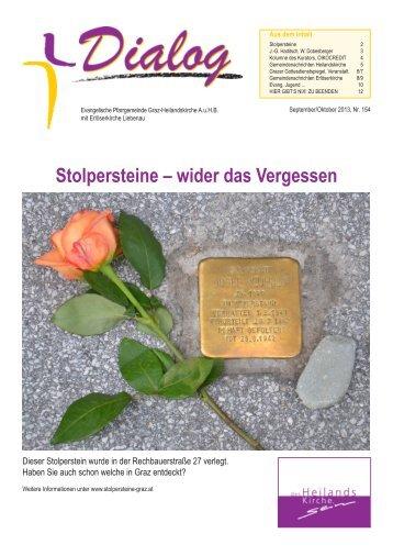 DIALOG_September 2013..pdf - Evangelische Pfarrgemeinde Graz ...