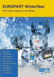 EUROPART Winterfibel - EUROPART - europart.de
