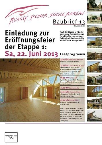 Festprogramm - Rudolf Steiner Schule Aargau