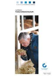 Leitfaden Futtermittelwirtschaft - QS Qualität und Sicherheit GmbH