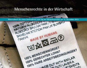 EKD: Menschenrechte in der Wirtschaft - Evangelische Kirche in ...