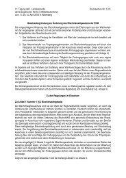 11. Tagung der I. Landessynode Drucksachen-Nr. 7.2/3 der ...