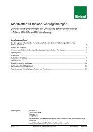 Merkblatt für Metzger - Bioland